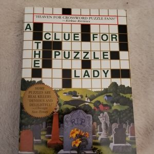 Other - 🌷 A Clue for the Puzzle Lady by Parnell Hall